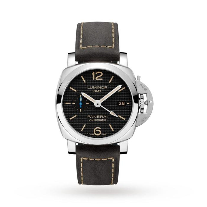 Panerai Luminor 1950 GMT 42mm Steel Black (Ref#PAM01535) - Boston