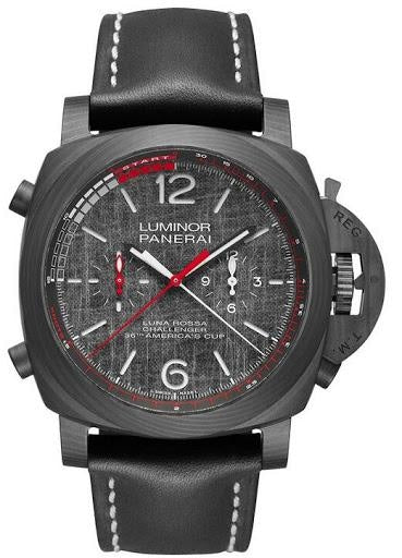 Panerai Luminor Luna Rossa Regatta - 47mm CarboTech/Titanium (PAM01038) - WATCHES Boston