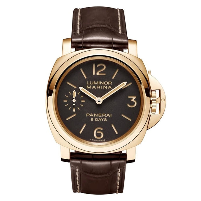 Panerai Luminor Marina 8 Days 44Mm Rose Gold (Pam00511) - Watches Boston