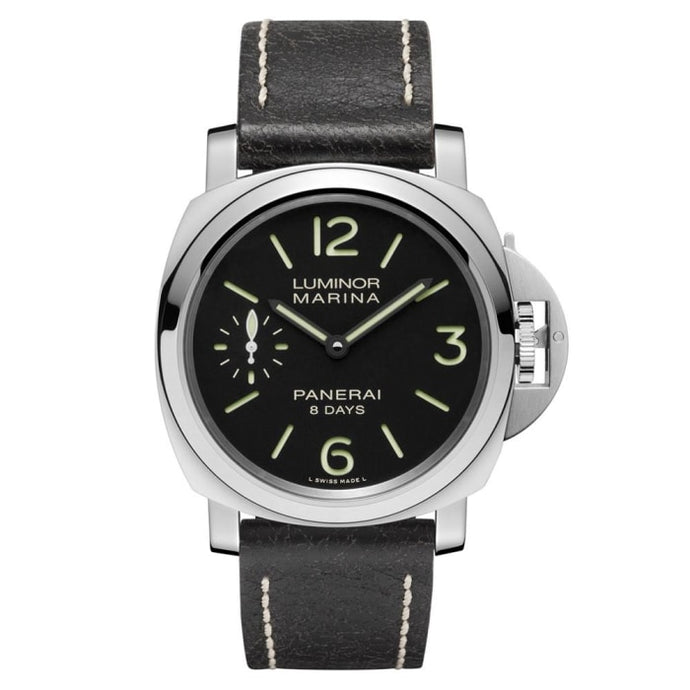 Panerai Luminor Marina 8-Days Acciaio 44Mm Stainless Steel (Pam00510) - Watches Boston