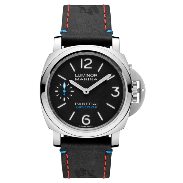 Panerai Luminor Marina Oracle Team Usa 8 Days 44Mm Stainless Steel (Pam00724) - Watches Boston
