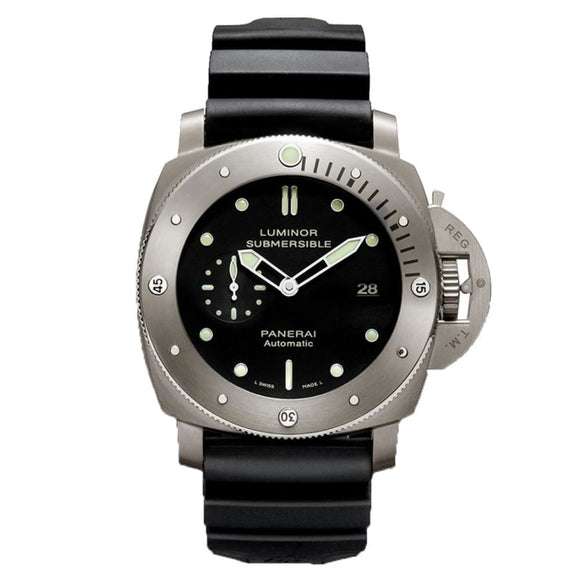 Panerai Luminor Submersible 1950 3 Days 47Mm Titanium (Pam00305) - Watches Boston