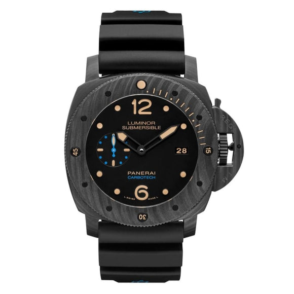 Panerai Luminor Submersible 1950 3-Days Carbotech 47Mm (Pam00616) - Watches Boston