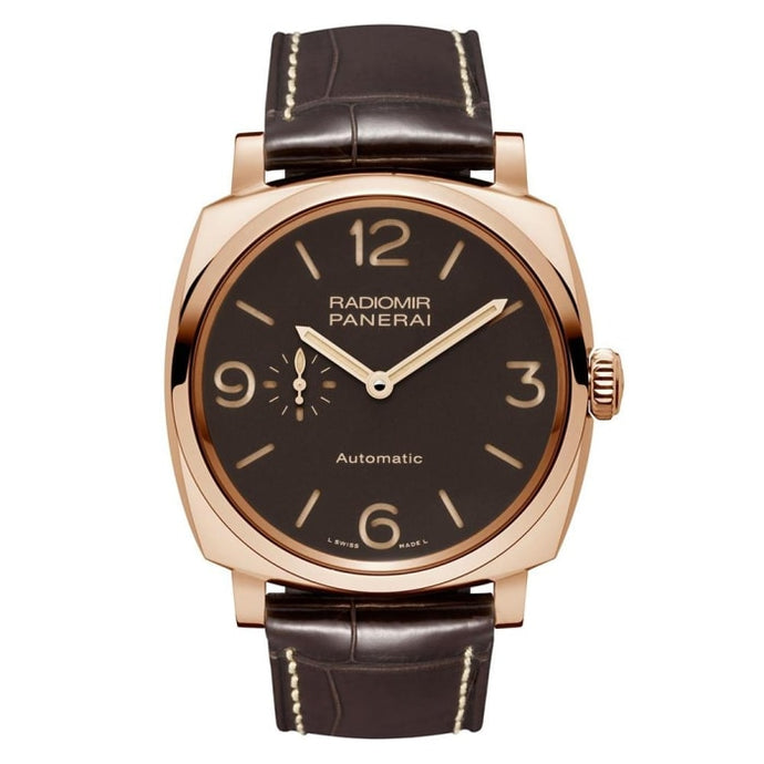 Panerai Radiomir 1940 3 Days Automatic Oro Rosso 45Mm Rose Gold (Pam00573) - Watches Boston