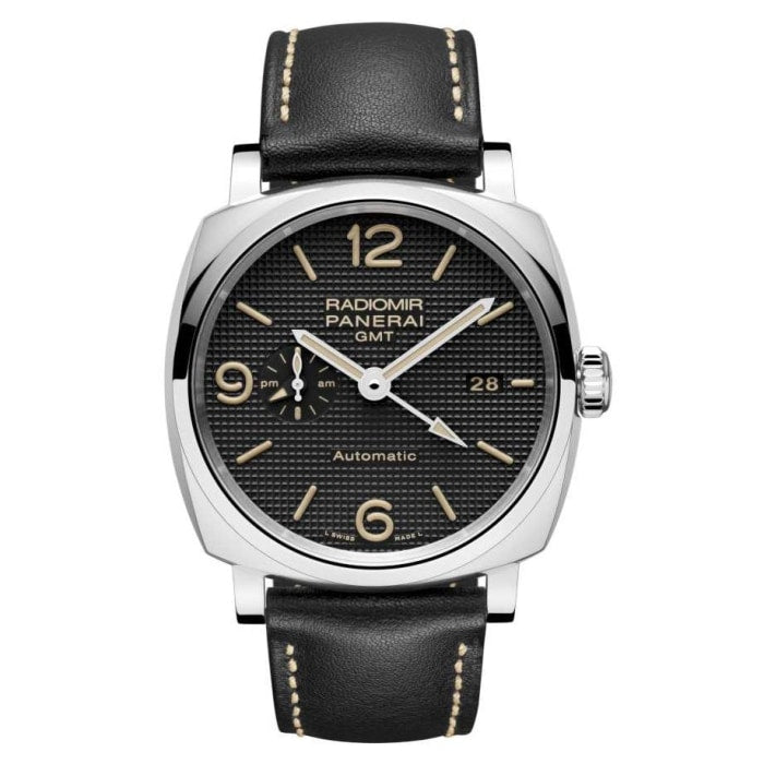 Panerai Radiomir 1940 3 Days Gmt Automatic Acciaio 45Mm Stainless Steel (Pam00627) - Watches Boston