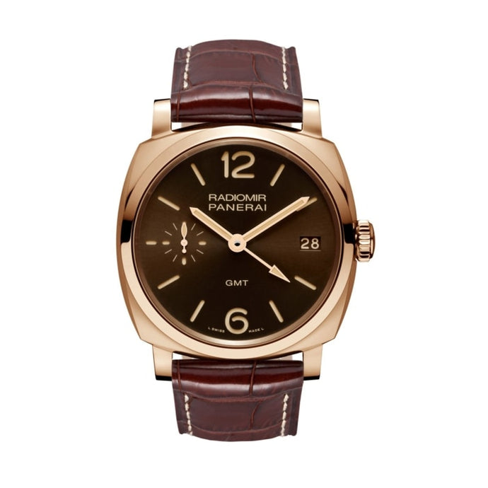 Panerai Radiomir 1940 3 Days Gmt Oro Rosso 45Mm Rose Gold (Pam00570) - Watches Boston
