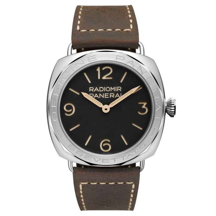 Panerai Radiomir 3 Days 47Mm Stainless Steel Brevettato (Pam00685) - Watches Boston
