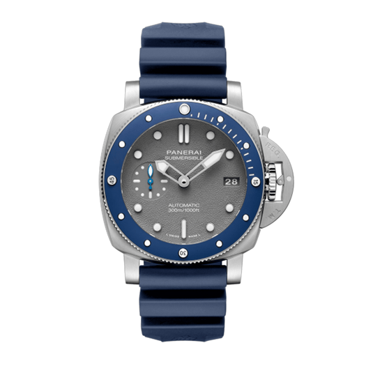 Panerai Submersible 42mm Steel Grey Dial (PAM00959) - Boston