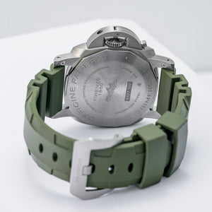 Panerai Submersible Verde Militare Stainless Steel 42mm (PAM01055) - Boston