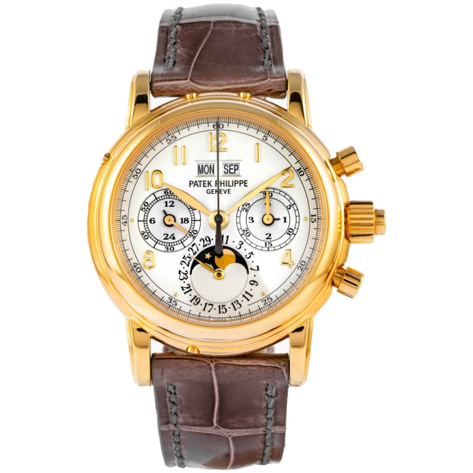 Patek Philippe 5004J Perpetual Calendar Split Second Chronograph Yellow Gold 37mm (5004J-012) - Boston