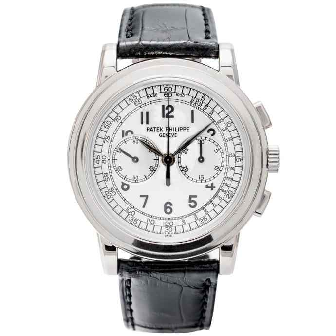 Patek Philippe 5070G-001 Chronograph White Gold 42mm (5070G-001) - Boston