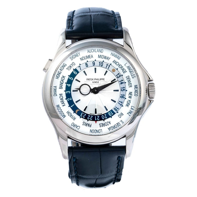 Patek Philippe 5130G-001 World Time White Gold 39.5mm (5130G-001) - Boston