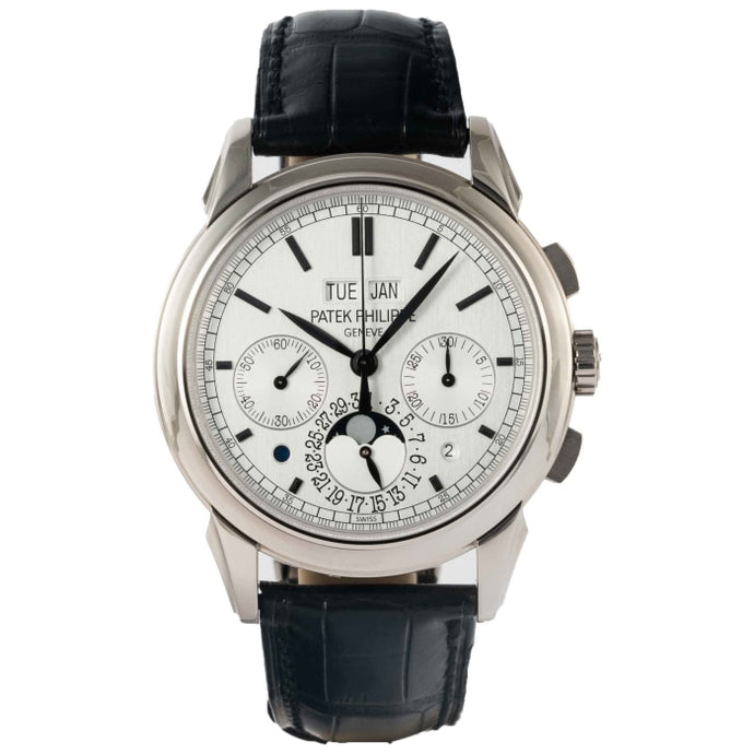 Patek Philippe 5270G-001 Perpetual Calendar Chronograph Moonphase White Gold 41mm (5270G-001) - Boston