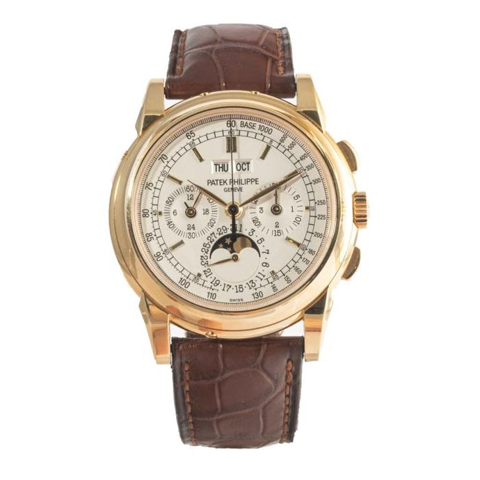 Patek Philippe 5970J Perpetual Calendar Chronograph Moonphase Yellow Gold (5970J-001) - Boston