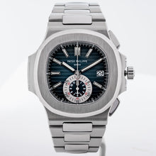 Load image into Gallery viewer, Patek Philippe 5980/1A Nautilus Chronograph Stainless Steel 40.5mm (5980/1A-001) - Boston