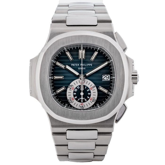 Patek Philippe 5980/1A Nautilus Chronograph Stainless Steel 40.5mm (5980/1A-001) - Boston