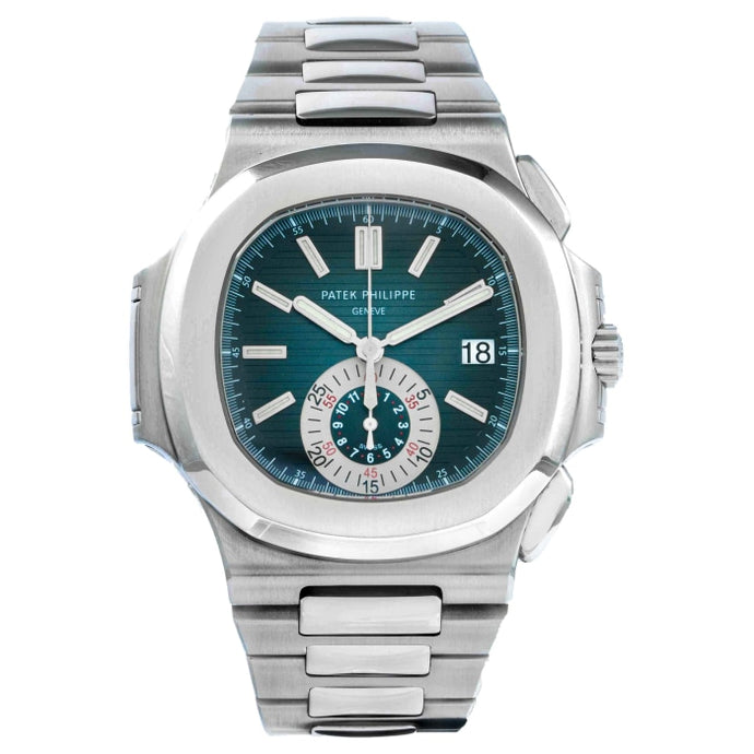 Patek Philippe 5980/1A Nautilus Stainless Steel Chronograph 40.5mm (5980/1A-001) - Boston
