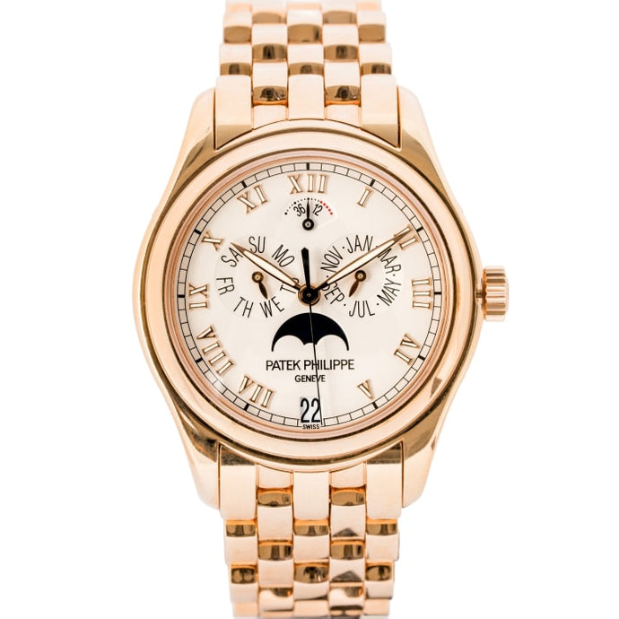 Patek Philippe Annual Calendar Moon Phase Rose Gold 37mm (5036/1R-010) - Boston