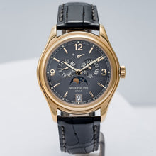 Load image into Gallery viewer, Patek Philippe Annual Calendar Moon Phase Yellow Gold 39mm (5146J-010) - Boston