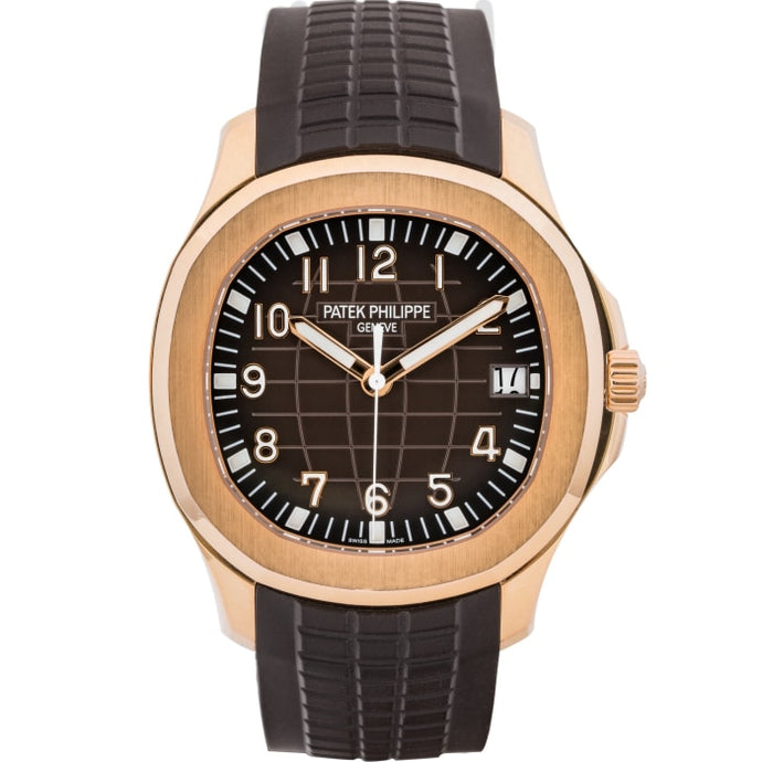 Patek Philippe Aquanaut Automatic Rose Gold 40Mm (5167R-001) - Watches Boston