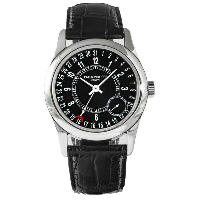 Patek Philippe Calatrava 6000G-001 White Gold 37mm (6000G-001) - Boston