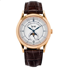 Load image into Gallery viewer, Patek Philippe Calatrava Annual Calendar Sector Dial Rose Gold 38.5mm (5396R-011) - Boston