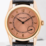 Patek Philippe Calatrava Rose Gold 33mm (5000R-001) - Boston