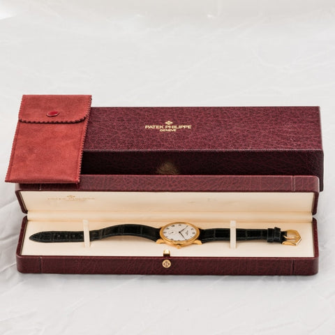Patek Philippe Calatrava Yellow Gold 33Mm (3919J-001) - Watches Boston