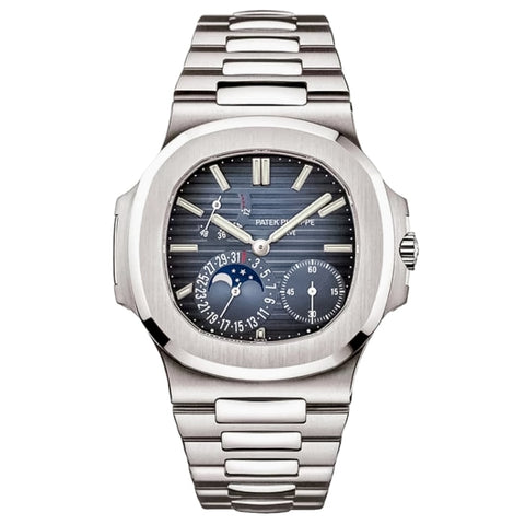 Patek Philippe Nautilus Date and Moonphase Stainless Steel 40mm (5712/1A) - Boston