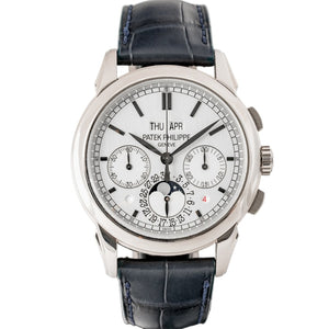 Patek Philippe Perpetual Calendar Chronograph Moonphase White Gold 41mm (5270G-001) - Boston
