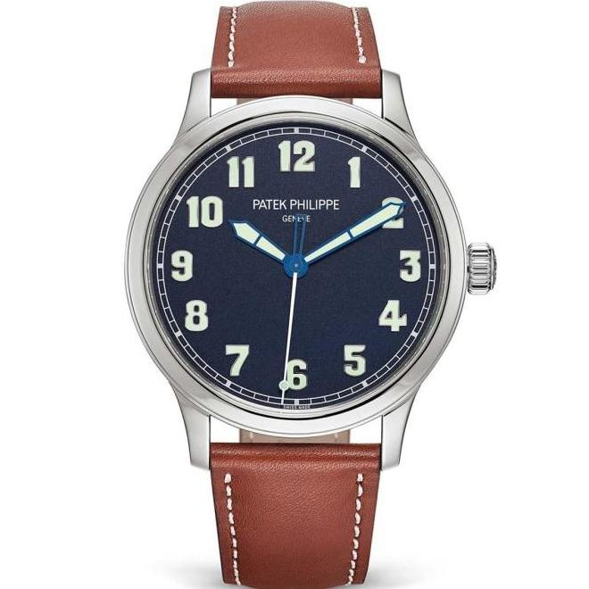 Patek Philippe Pilots Calatrava Stainless Steel 42Mm (5522A) Limited Edition - Watches Boston