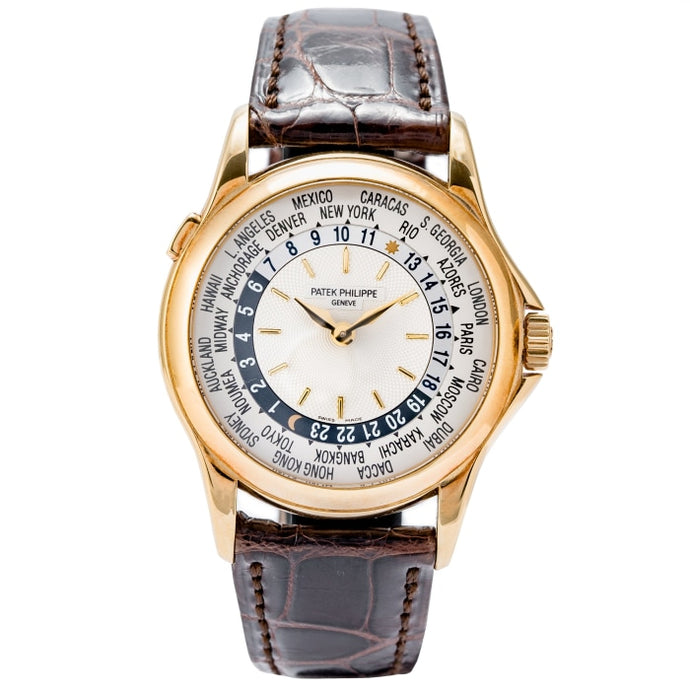 Patek Philippe World Time Yellow Gold 37mm (5110J-001) - Boston