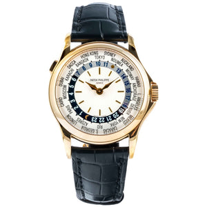 Patek Philippe World Time Yellow Gold 37mm (5110J-001) - MINT - Boston