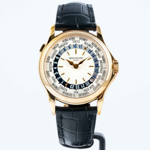 Load image into Gallery viewer, Patek Philippe World Time Yellow Gold 37mm (5110J-001) - MINT - Boston