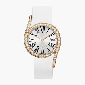 Piaget Limelight Gala 32Mm 18K Rose Gold Watch W/ Diamonds (G0A38161) - Watches Boston