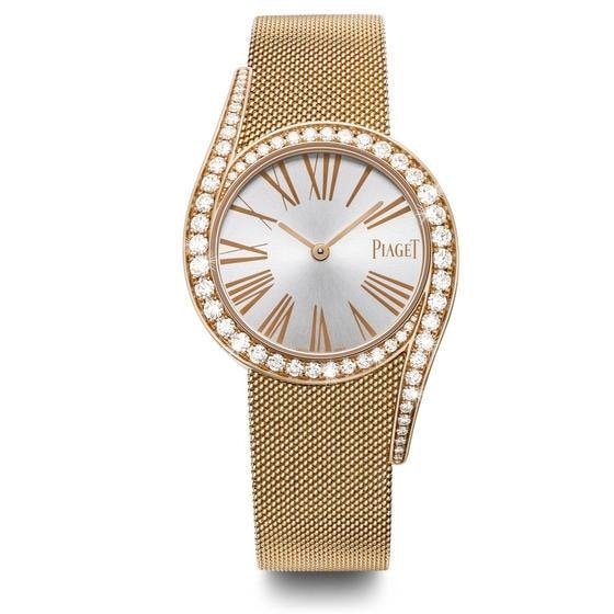 Piaget Limelight Gala 32Mm 18K Rose Gold Watch W/ Diamonds (G0A41213) - Watches Boston