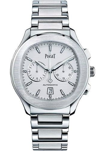 Piaget Polo S 42Mm Stainless Steel Chronograph(G0A41004) - Watches Boston