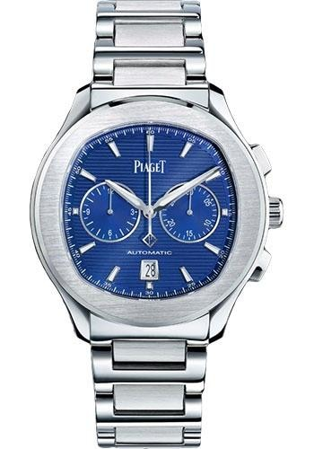 Piaget Polo S 42Mm Stainless Steel Chronograph(G0A41006) - Watches Boston