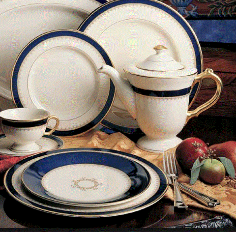 Pickard 5-Pc Washington China Set (1 Set Available) - Engagement Boston