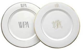 Pickard China Signature Collection Monogrammed - Home & Decor Boston