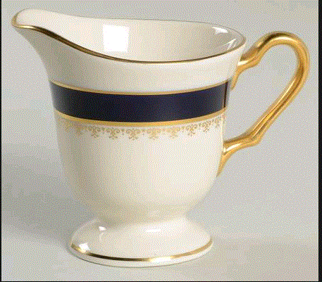 Pickard Washington Creamer (1 Available) - Engagement Boston