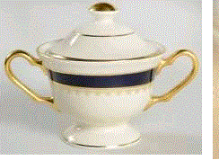 Pickard Washington Sugar Bowl & Cover (1 Available) - Engagement Boston