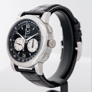A. Lange & Söhne Double Split Flyback Platinum 43mm (404.035) - Boston
