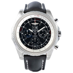 Pre-owned Breitling Bentley 6.75 Speed Chronograph Stainless Steel 49mm (A4436412/BE17) - Boston