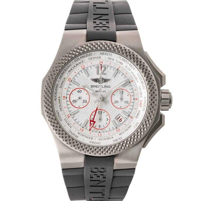 Pre-owned Breitling Bentley GMT Light Body B04 S. Titanium 45mm (EB043335/G801/232S/E20DSA) - Boston