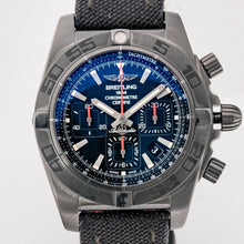 Load image into Gallery viewer, Pre-owned Breitling Chronomat 44mm Blacksteel 44mm (MB0111C3/BE3) - Boston