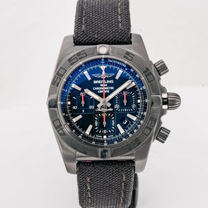 Pre-owned Breitling Chronomat 44mm Blacksteel 44mm (MB0111C3/BE3) - Boston