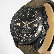 Load image into Gallery viewer, Breitling Chronospace Blacksteel Military - Boston