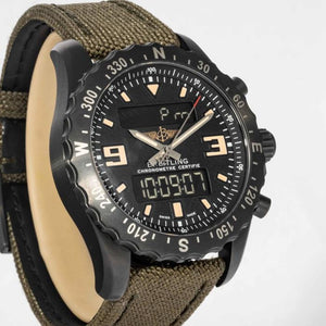 Breitling Chronospace Blacksteel Military - Boston
