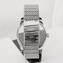Load image into Gallery viewer, Pre-owned Breitling Transocean Date Stainless Steel 43mm (A10360) - Boston